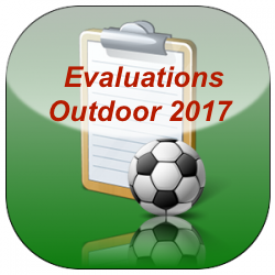 Outdoor 2017 Evaluations